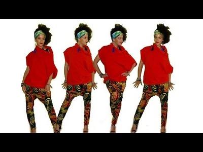 DIY Harem Pants in 20 min | 10% Discount African Print Fabrics