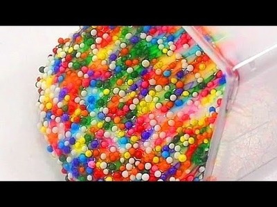 DIY How To Make Milk Slime Decoration Sprinkle | If You're Happy | Row Row Row Your Boat