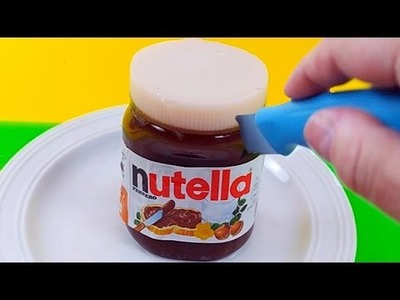 DIY How To Make Real Nutella Edible Pudding Jelly Cooking Learn the Recipe