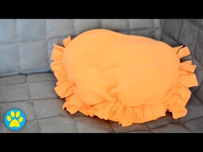 DIY No-Sew Pet Pillow
