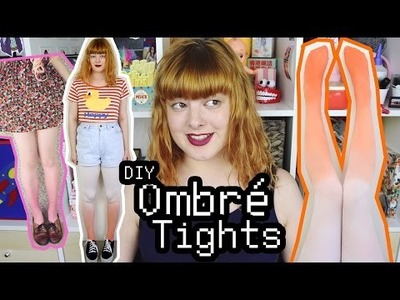 DIY Ombre Tights | Make Thrift Buy #34