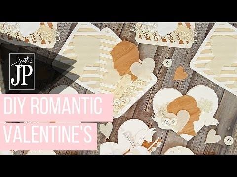 DIY Romantic Valentines with Sizzix Big Shot and NEW Echo Paper Paper Co. Dies  [AD]