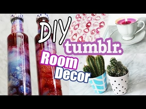 DIY Room Decor | Tumblr Inspired