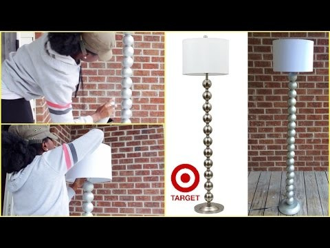 DIY | Target Inspired Ball Floor Lamp