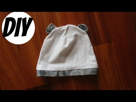 DIY Tutorial | How To Make Baby Hat With Bear Ears