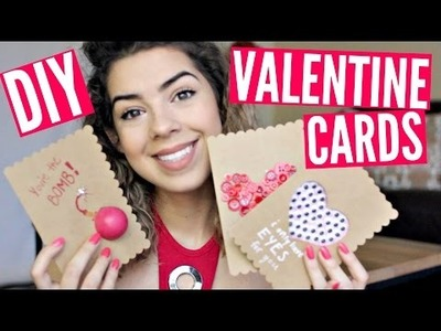 DIY VALENTINE'S DAY CARDS!