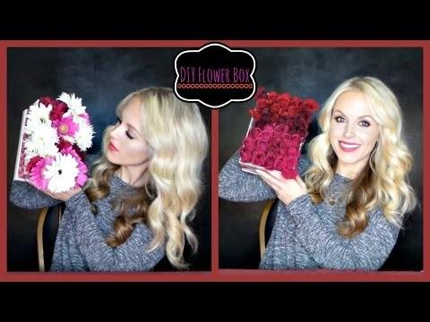 DIY - Valentines Day Flower Box