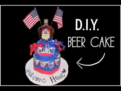How To.DIY: Beer Can Cake
