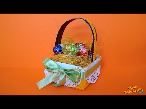 How to make a Easter Basket? DIY