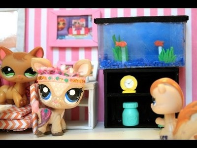 How to make an LPS aquarium. fish tank LPS DIY