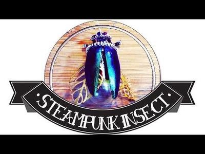Insecte Steampunk ll YWC tutorial Tim Holtz lightbulbs