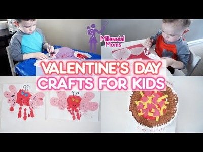 KIDS DIY FOR VALENTINE'S DAY! | Millennial Moms