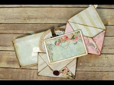 Standard Envelope Pages & Assembly using The Ultimate DIY Scrapbook Printable Template
