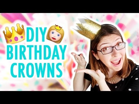 3 Cute DIY Birthday Crowns (For Kids AND Adults!) - HGTV Handmade