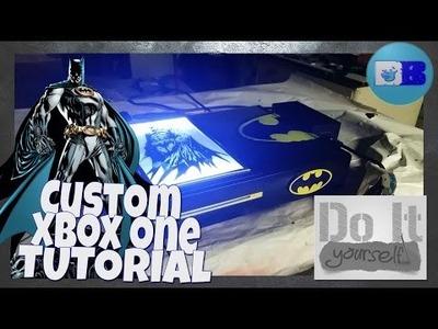 Custom Xbox One Tutorial - Batman (A Drumblanket DIY Tutorial)
