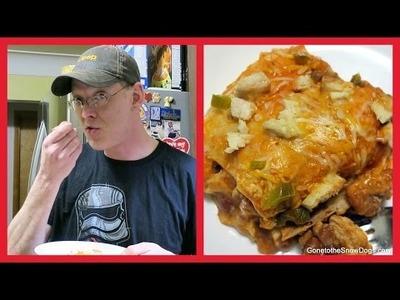 DIY CHICKEN ENCHILADA CASSEROLE | Food Friday Recipe Time!