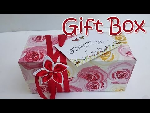 DIY crafts : Gift Box - Ana | DIY Crafts