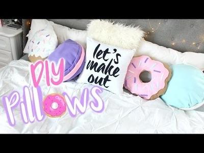 DIY Doughnut, Macaron, & Cupcake Pillows |  Belinda Selene