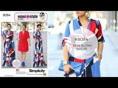 DIY Dress with Mimi G Style Simplicity 8084
