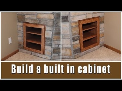 DIY Fireplace Built-In Cabinets