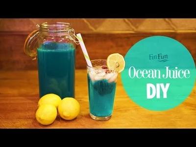 DIY Mermaid Ocean Juice -