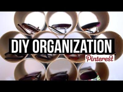 DIY Pinterest Organization | Hats + Sunglasses!