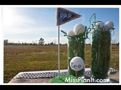 DIY: Quick Tip Par TEE Baby Shower Centerpiece! Lets Put It All Together! Part 4