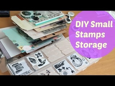 DIY Storage and Organization for Small Stamps