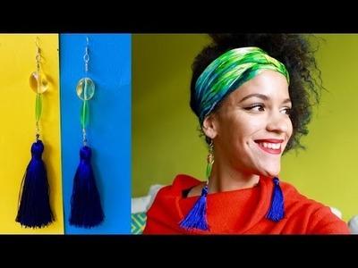 DIY Tassel Earrings | DIY Jewelry