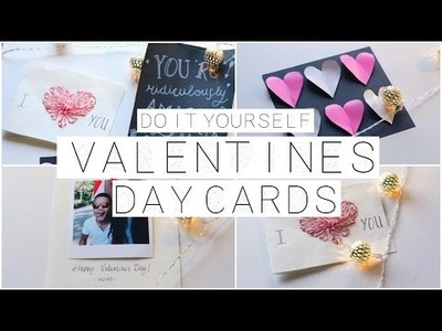 DIY Valentine's Day Cards! ♡