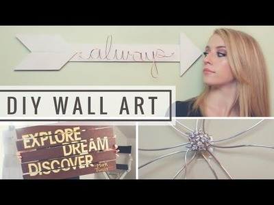 DIY Wall Art Room Decor Ideas