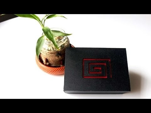 How To Black Shiny Gorgeous Ornament Box :) - DIY Crafts Tutorial - Guidecentral