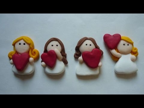 How To Create A Beautiful Polymer Clay Angel - DIY Crafts Tutorial - Guidecentral