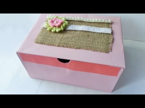 How To Create A Paper Board Box - DIY Crafts Tutorial - Guidecentral