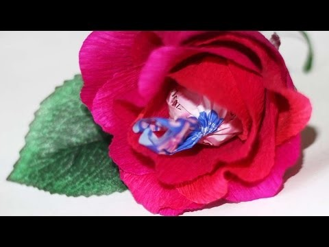 How To Make A Mini Candy Rose Present - DIY Crafts Tutorial - Guidecentral