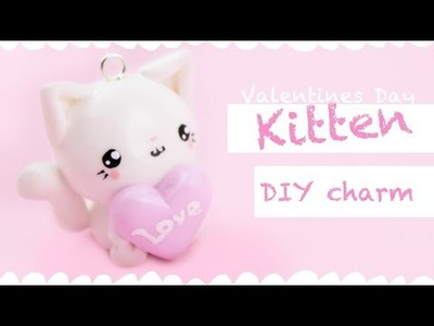 Kawaii Heart Kitten -DIY charm- ! | Kawaii Friday