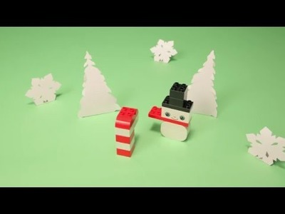 LEGO® DUPLO - DIY - How to Build your own Winter Wonderland
