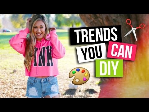 TOP TRENDS YOU CAN DIY | LaurDIY