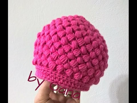 Crochet beannie for girls
