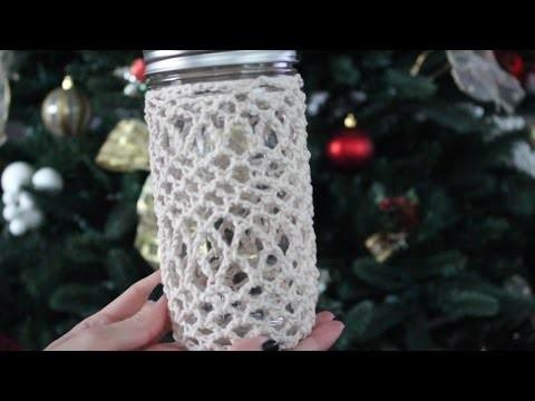 Crochet Jar Cozy Tutorial