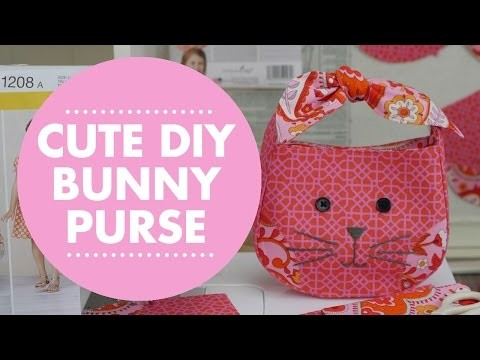 Cute DIY Bunny Purse with Simplicity Pattern 1208