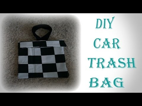 DIY Car Trash Bag