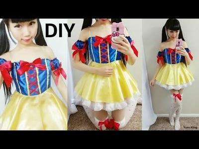 DIY Disney Princess Costume: DIY Snow White Cosplay Costume Tutorial
