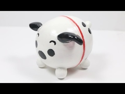 DIY EOS Lip Balm: 101 Dalmatian Tsum Tsum Tutorial