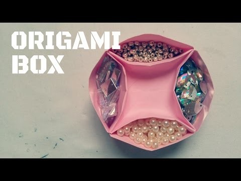 DIY - How to make an Origami Box