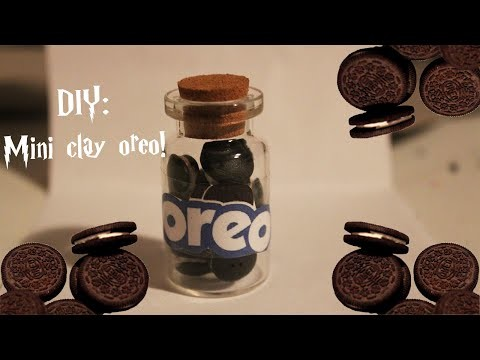 DIY ll Mini Clay Oreo's!
