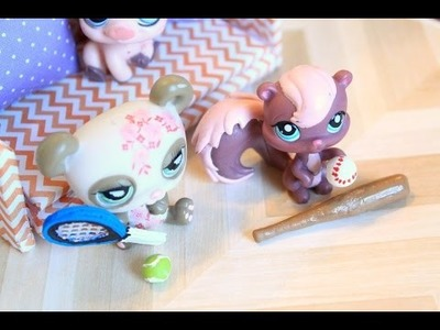 DIY LPS - How to make doll sports equipment
