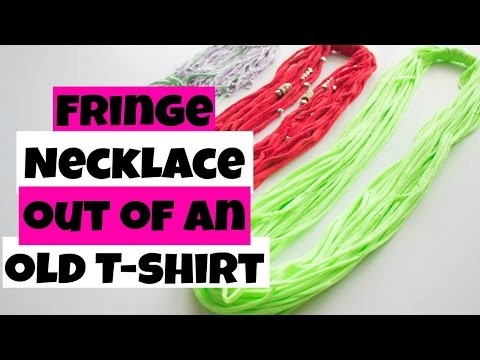 DIY| Tumblr Inspired Fringe Necklace | Unbelievably Human
