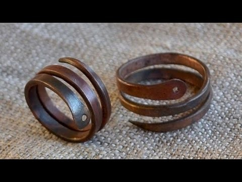How To Copper Serpent Ring - DIY Crafts Tutorial - Guidecentral