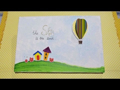 How To Create A Movable Hot Air Balloon Wall Art - DIY Crafts Tutorial - Guidecentral